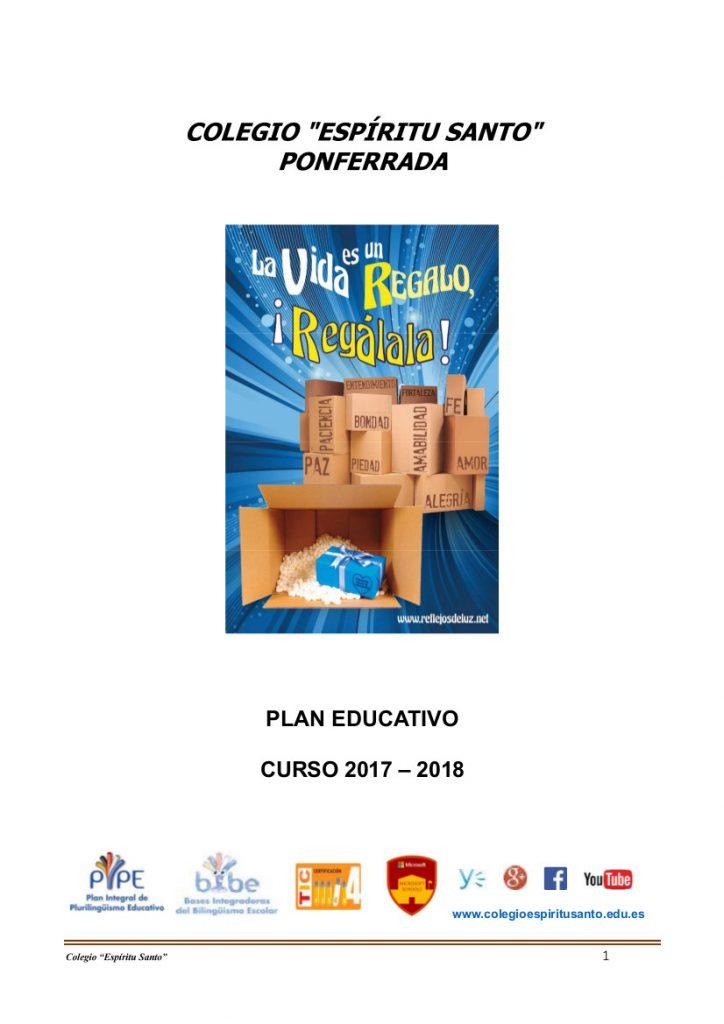 PLAN EDUCATIVO 17-18